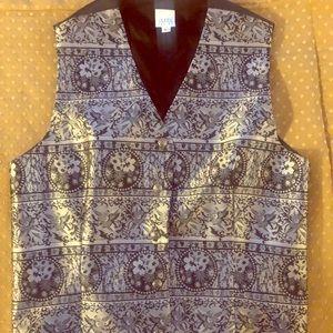 Lovely Vintage Pewter Black Vest